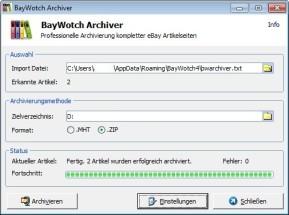 BayWotch Archiver