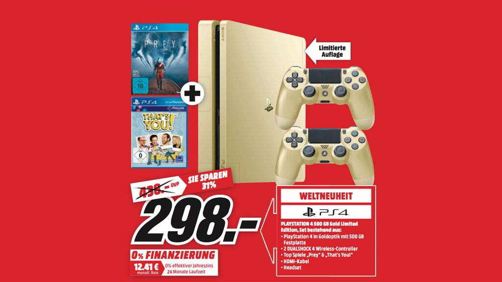 Ps4 Gold Version Im Angebot Bei Media Markt Computer Bild Spiele