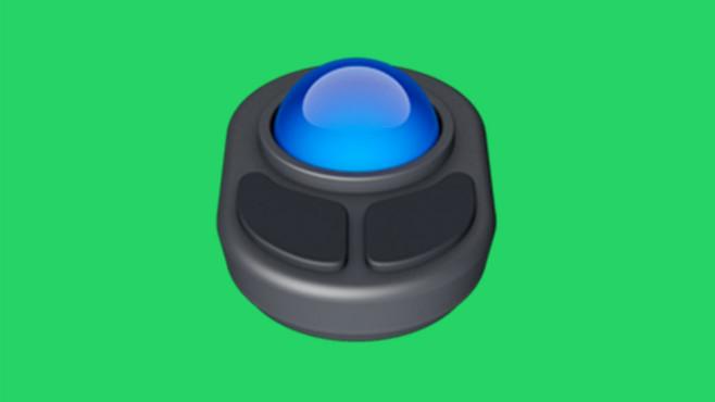 WhatsApp Emoji Trackball ©Apple/WhatsApp