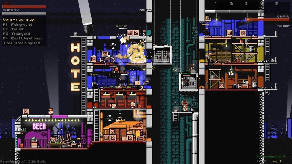 Screenshot 1 - Superfighters Deluxe