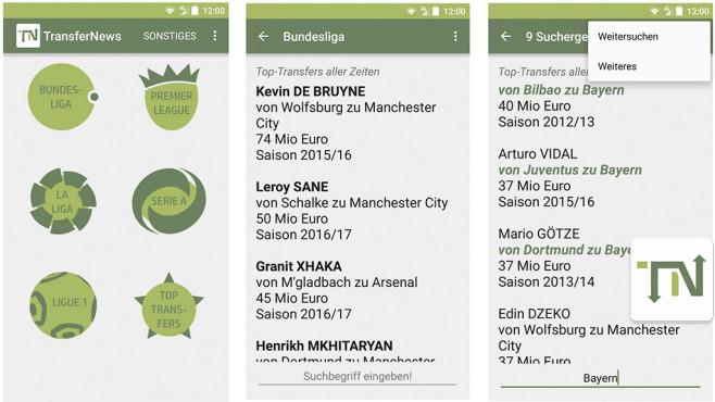 TransferNews – Fußball Transfers ©TransferNews