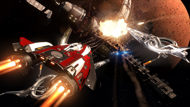 Elite Dangerous: Das Weltraum-Epos in Bildern © Frontier Developments