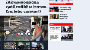Homepage Blesk.cz©http://www.blesk.cz/Blesk.cz