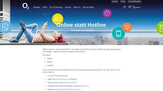 O2 Datenvolumen Für Hotline Verzicht Computer Bild