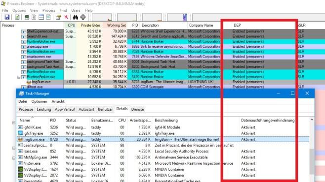 Windows 7/8/10: DEP-Schutz für alle Programme nutzen©COMPUTER BILD