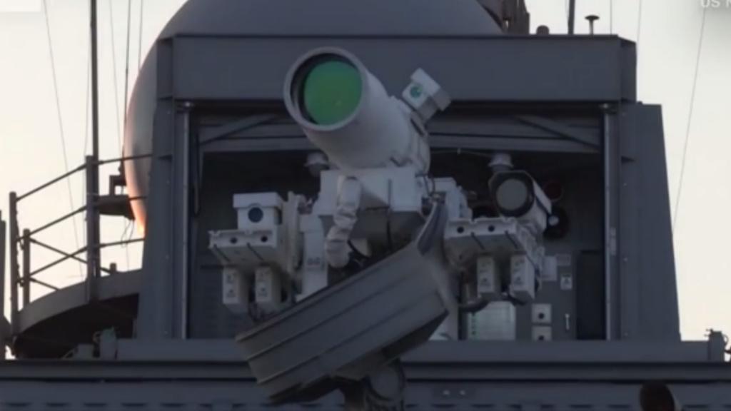 Laserwaffe: US-Marine schießt Drohnen vom Himmel