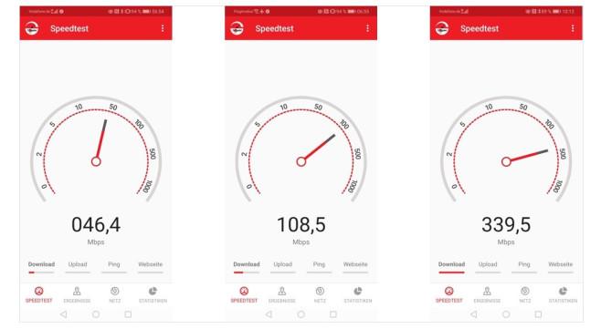 5G gegen LTE: Vergleich©COMPUTER BILD