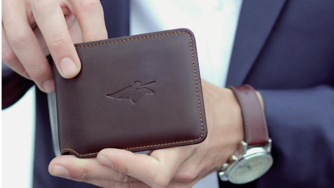 Volterman Smartes Portemonnaie Computer Bild