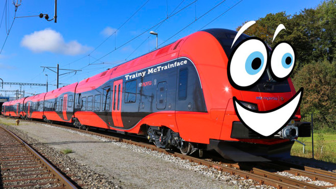 Trainy McTrainface: Zug©MTR Express