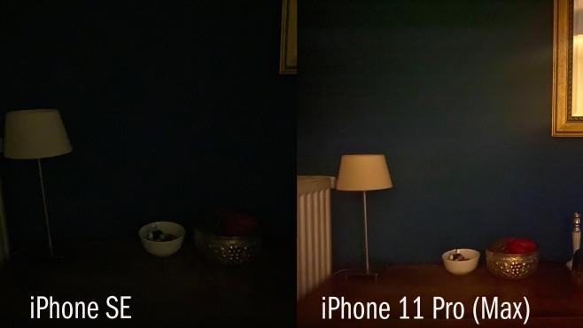 iPhone SE: Kamera bei Nacht©COMPUTER BILD