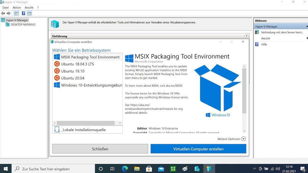 Windows 10 Pro kostenlos: Windows 10 Home in Pro umwandeln Der Virtualisierer Hyper-V hält mit der Konkurrenz aus dem Hause VMWare und Oracle mit.