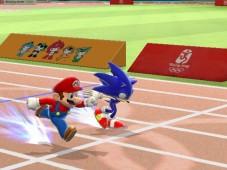 Mario and Sonic at the Olympic Games: Kopf an Kopf erreichen die beiden Erzfeinde das Ziel.