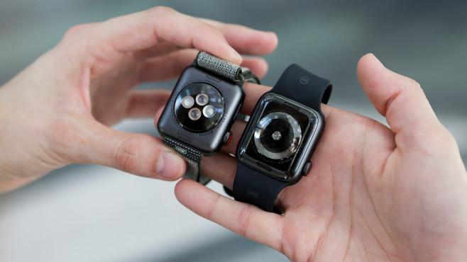 Apple Watch 4 und Apple Watch 3©COMPUTER BILD