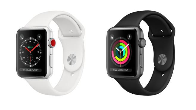 Apple Watch Series 3: Technische Daten, Preis, Details Das ist die Apple Watch Series 3!©Apple