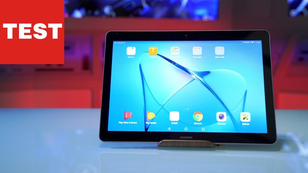 Huawei Mediapad T3 Allrounder Im Test Computer Bild