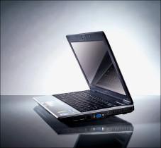 Schick und schlank: das Notebook W251U-72  von Gigabyte.