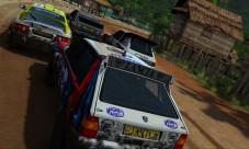 Darf in Sega Rally nicht fehlen: der Lancia HF Integrale