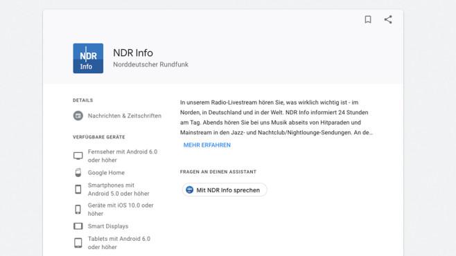 NDR Info ©Google
