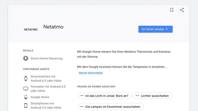 Netatmo ©Google