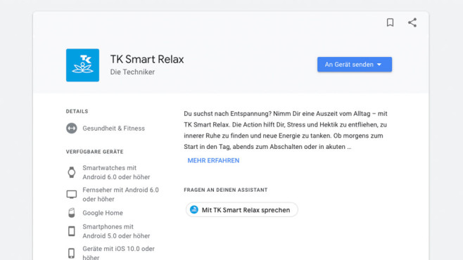 TK Smart Relax ©Google