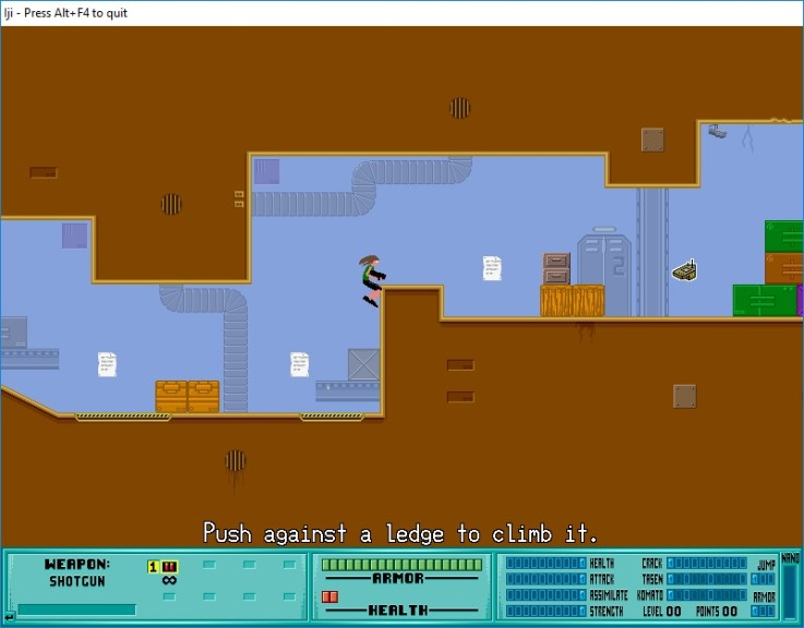 Screenshot 1 - Iji