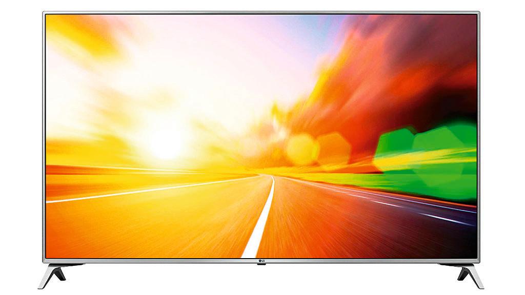 Ultra-HD-Fernseher LG UJ6519 im Test Der LG 55UJ6519 zeigt Fernsehbilder schön hell und mit natürlichen Farben.©LG Electronics