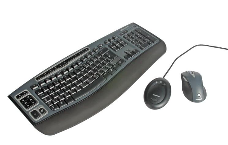 kabellose maus und tastatur anschlie en und optimal einrichten computer bild. Black Bedroom Furniture Sets. Home Design Ideas