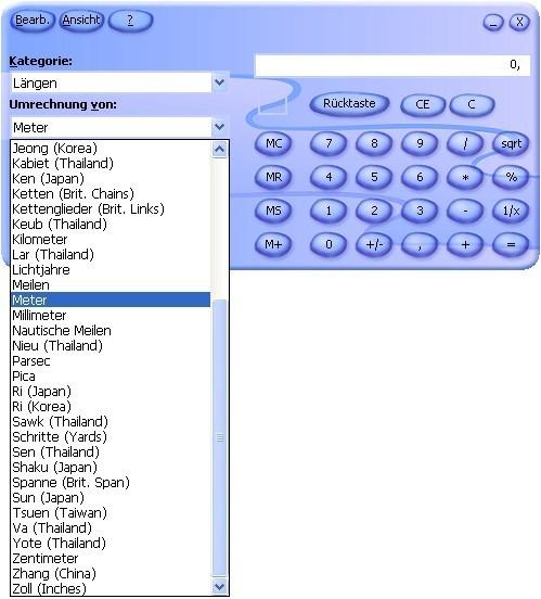 Microsoft Rechner