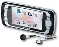 """Der """"Maxian M800"""" (30 GB) spielt viele Audio- und Videoformate ab."""