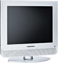 """Der Bildschirm """"Daewoo DLP-20J1S"""" kann über seinen Standfuß angewinkelt werden."""