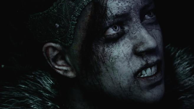 Hellblade – Senua's Sacrifice: Gruß aus der Hölle! Die Schauspielerin Melina Juergens haucht der Hauptfigur durch gelungenens Performance Capturing eindruckvoll Leben ein.©Ninja Theory