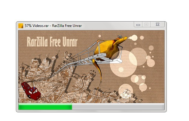 Screenshot 1 - RarZilla Free Unrar