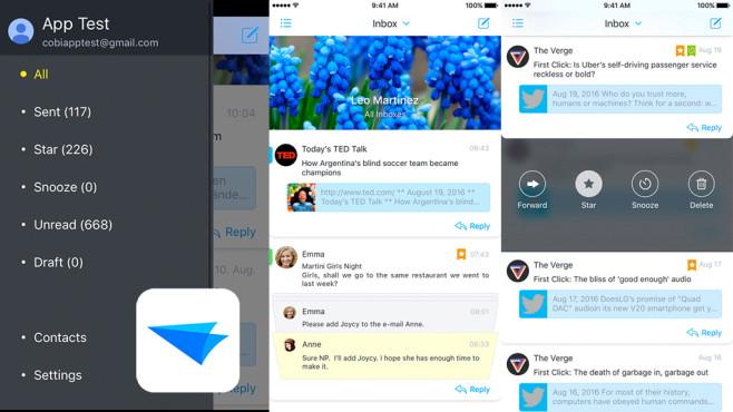 Flow – Email-App ©Mera Inc.