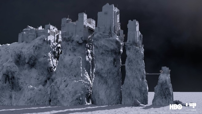 Special Effect in Game of Thrones ©HBO, Mackevision