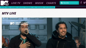 MTV © MTV / Screenshot / http://www.mtv.de/live