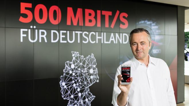 500 MBit/s: Smartphones mit Highspeed-LTE©Vodafone
