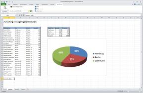 SmartTools Websuche für Excel