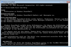 Windows PowerShell (Windows Management Framework)