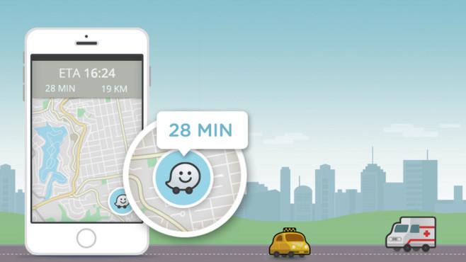 Waze: Roadside help bietet Pannenhilfe©Waze