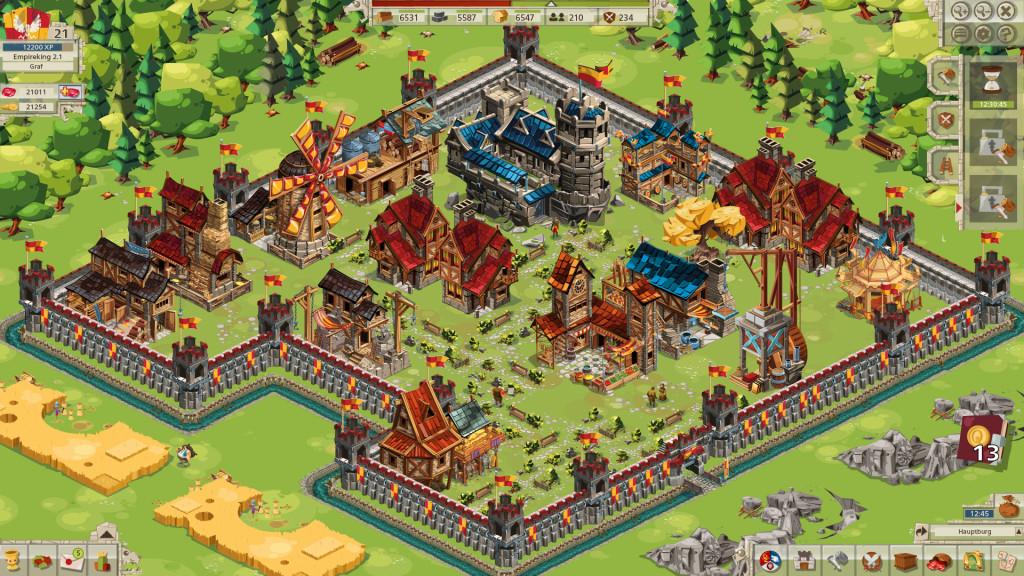 Screenshot 1 - Goodgame Empire