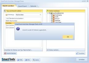 SmartTools Ansichten-Manager für Outlook