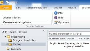 SmartTools Ordner-Assistent für Outlook
