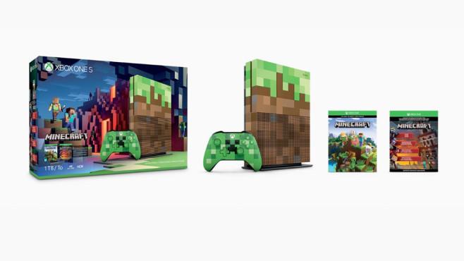 Xbox One S MinecraftEdition Angekündigt COMPUTER BILD SPIELE - Minecraft xbox spielen