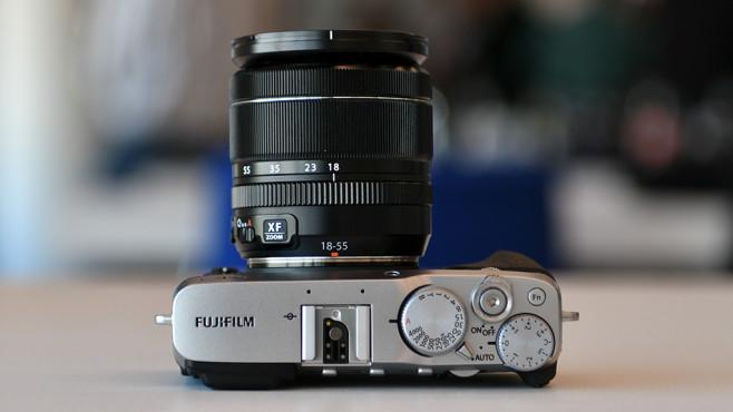 Fujifilm X-E3: Oberseite©COMPUTER BILD