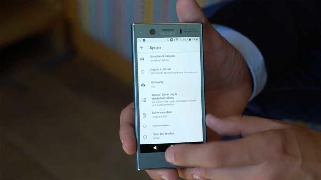 Sony Xperia XZ1 Compact Android 8.0 Oreo©COMPUTER BILD