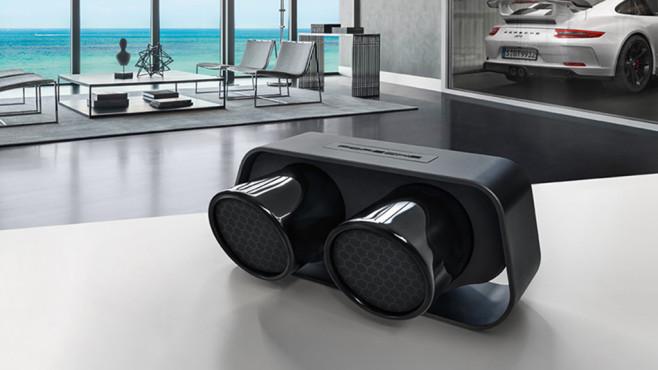 porsche auspuff lautsprecher audio video foto bild. Black Bedroom Furniture Sets. Home Design Ideas