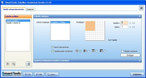 SmartTools Tabellen-Assistent für Word
