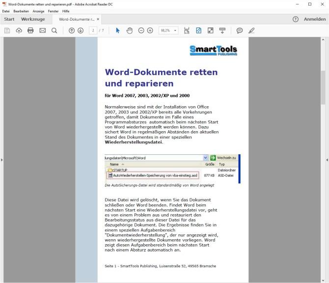 Ebook Word Dokumente Retten Und Reparieren Download