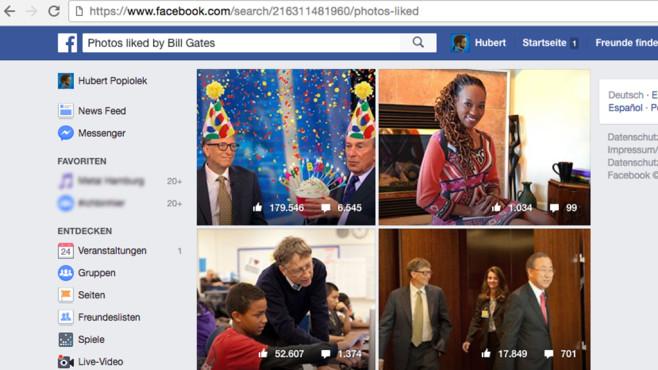 Facebook-ID einfügen ©COMPUTER BILD