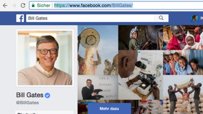 Facebook-ID herausfinden (2) ©COMPUTER BILD